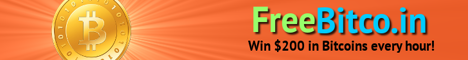 FreeBitco.in: Win $200 in Bitcoins every hour!